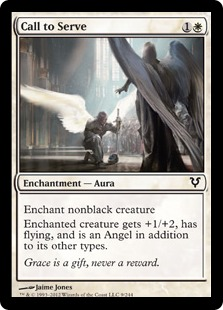 Call to Serve Magic Card