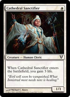 Cathedral Sanctifier Magic Card
