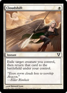 Cloudshift Magic Card
