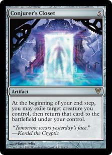 Conjurer's Closet Magic Card