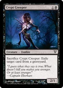 Crypt Creeper Magic Card