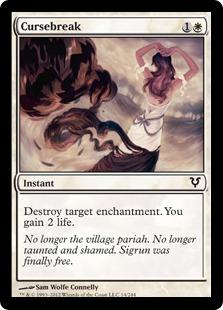 Cursebreak Magic Card