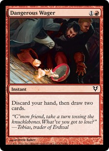 Dangerous Wager Magic Card