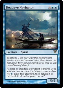 Deadeye Navigator Magic Card