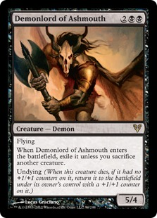 Demonlord of Ashmouth Magic Card