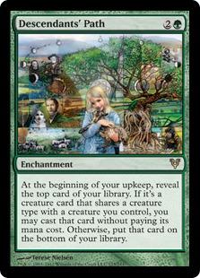 Descendants' Path Magic Card