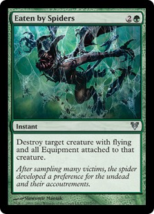 Eaten by Spiders Magic Card