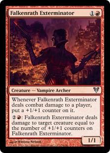 Falkenrath Exterminator Magic Card
