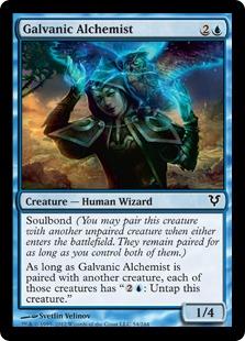 Galvanic Alchemist Magic Card