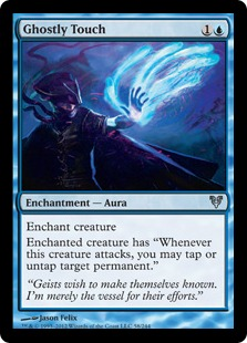 Ghostly Touch Magic Card