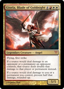 Gisela, Blade of Goldnight Magic Card