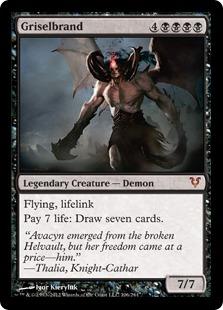 Griselbrand Magic Card