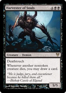 Harvester of Souls Magic Card