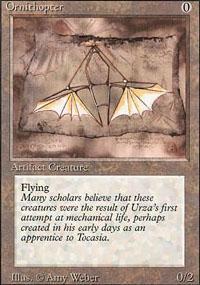 Ornithopter Magic Card