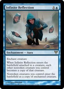 Infinite Reflection Magic Card