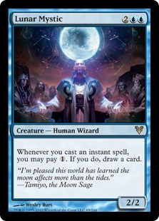 Lunar Mystic Magic Card