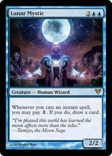 Lunar Mystic Magic Card