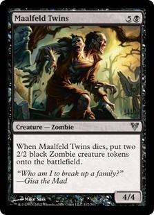 Maalfeld Twins Magic Card