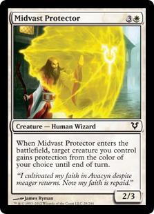 Midvast Protector Magic Card