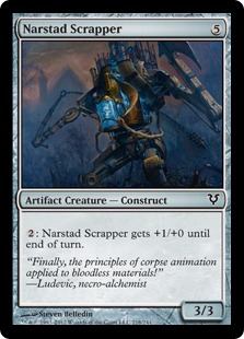 Narstad Scrapper Magic Card