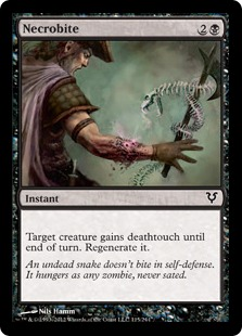 Necrobite Magic Card