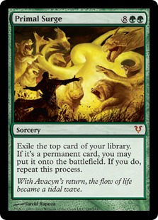 Primal Surge Magic Card