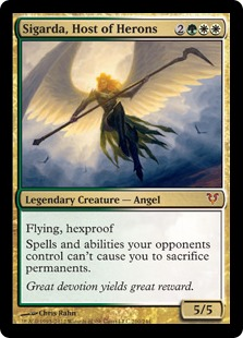 Sigarda, Host of Herons Magic Card