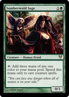 Somberwald Sage Magic Card