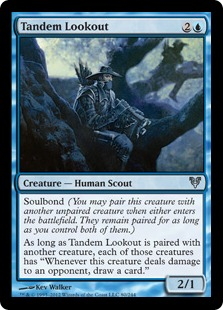 Tandem Lookout Magic Card