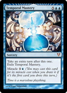 Temporal Mastery Magic Card