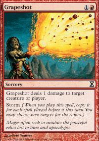 Grapeshot Magic Card