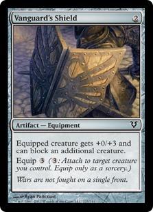 Vanguard's Shield Magic Card