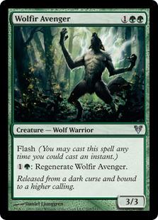Wolfir Avenger Magic Card