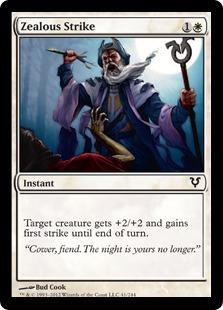 Zealous Strike Magic Card
