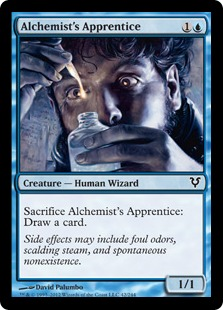 Alchemist's Apprentice Magic Card