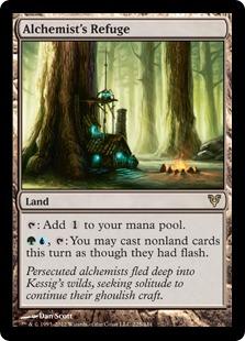 Alchemist's Refuge Magic Card
