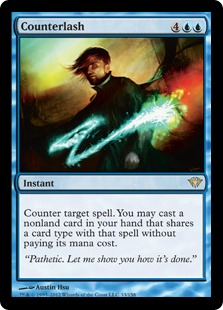Counterlash Magic Card