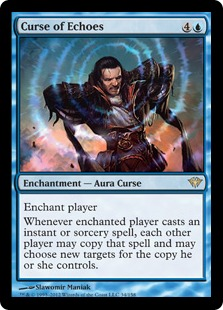 Curse of Echoes Magic Card