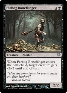 Farbog Boneflinger Magic Card
