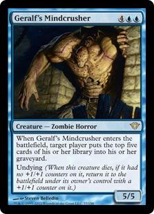 Geralf's Mindcrusher Magic Card