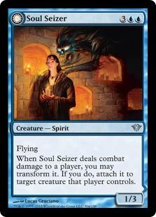 Soul Seizer // Ghastly Haunting Magic Card