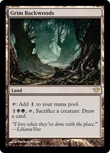 Grim Backwoods Magic Card
