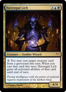 Havengul Lich Magic Card
