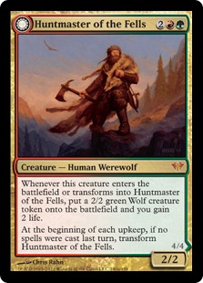 Huntmaster of the Fells // Ravager of the Fells Magic Card