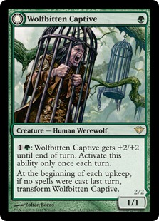 Wolfbitten Captive // Krallenhorde Killer Magic Card