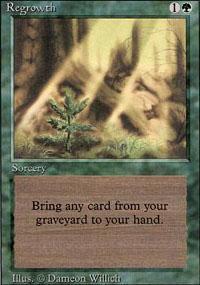 Regrowth Magic Card