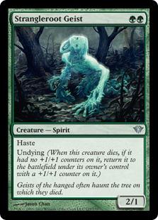 Strangleroot Geist Magic Card