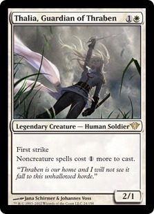 Thalia, Guardian of Thraben Magic Card