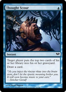 Thought Scour Magic Card