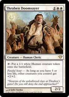 Thraben Doomsayer Magic Card